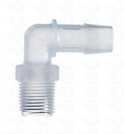1 4 Quot Thread To 1 2 Quot Barb Elbow Tsd933 5 Adhesive Dispensing