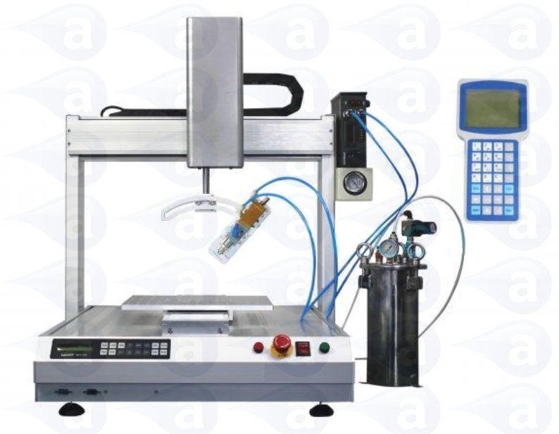 Ad300r Robot Dispenser Xyz System 300mm Adhesive